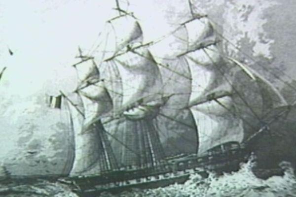 La corvette LA SEINE