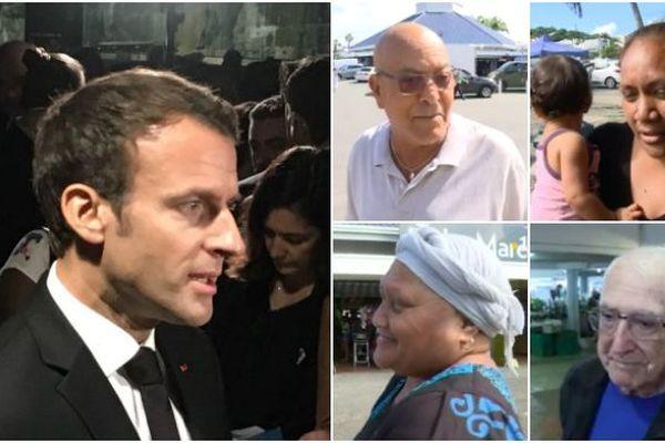 Macron - attente des Calédoniens