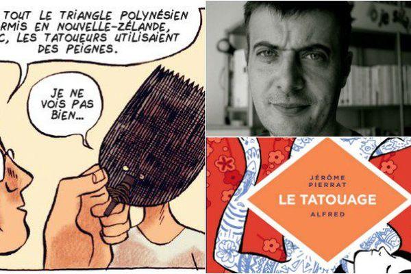 BD sur le tatouage signée Jérôme Pierrat et Alfred