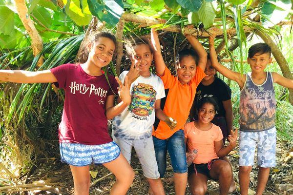 Vacances à Poya, à la Mueo, janvier 2020