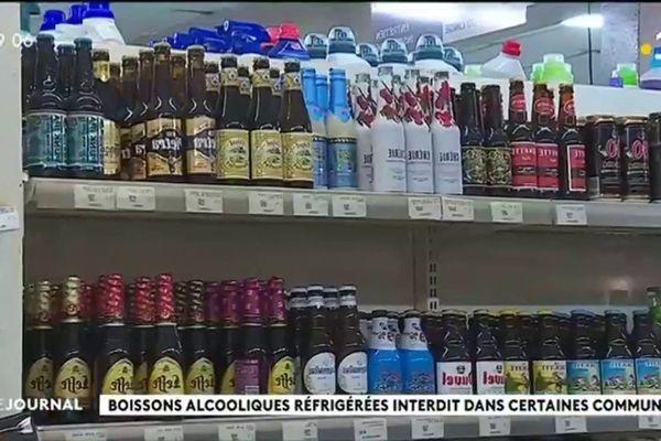 La règlementation de la vente d'alcool réfrigéré en question