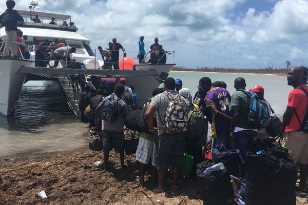 Sinistrés de Barbuda