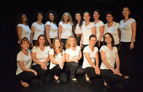 Groupe Vocal, photo des filles