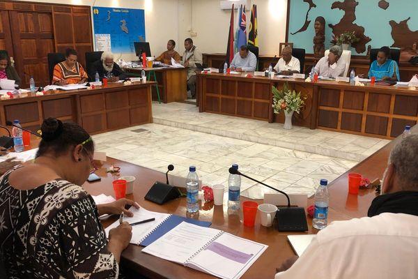 province des iles loyauté vote commissions 18 juin 2019