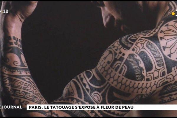 Les tatouages Polynésiens et Inuits s'exposent à Paris