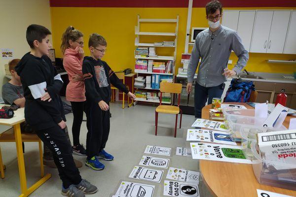 Les élèves de l'école du socle à Miquelon sensibilisés aux bons réflexes écologiques