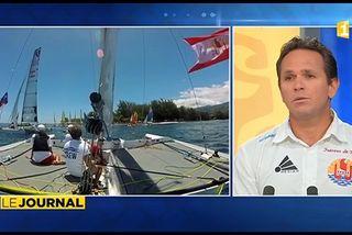 Invité du Journal : Le Skipper de « Trésors de Tahiti », Teva Plichart.