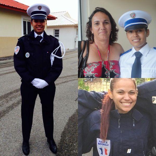 Elodie a débuté sa carrière dans la police en Nouvelle-Calédonie