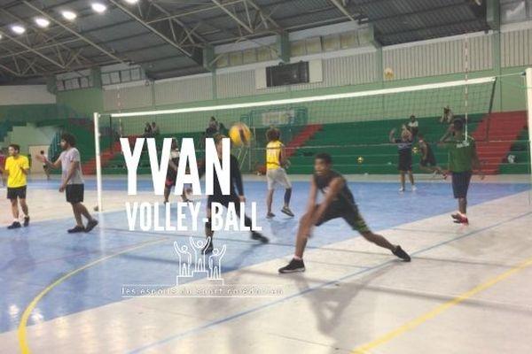 Les espoirs du sport calédonien : Yvan Panina, graine de champion en volley
