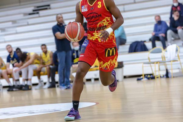 Le basketteur guadeloupéen Grégory Bengaber.