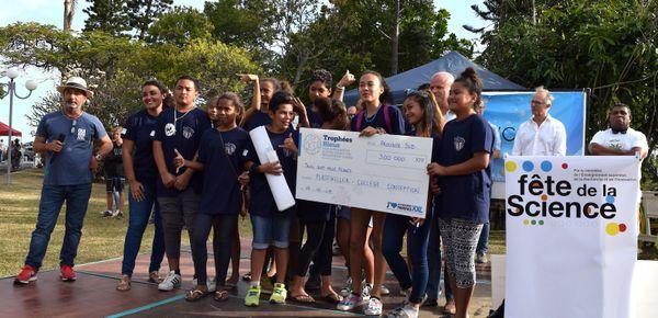 Trophées bleus 201ç, lauréat Sud, collège de La Conception