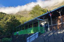 L'école de Roche Plate à Mafate, fermée par mesure de précautions.