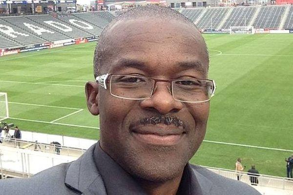 Samuel Pérreau, président de la LFM (Ligue de Football de Martinique)