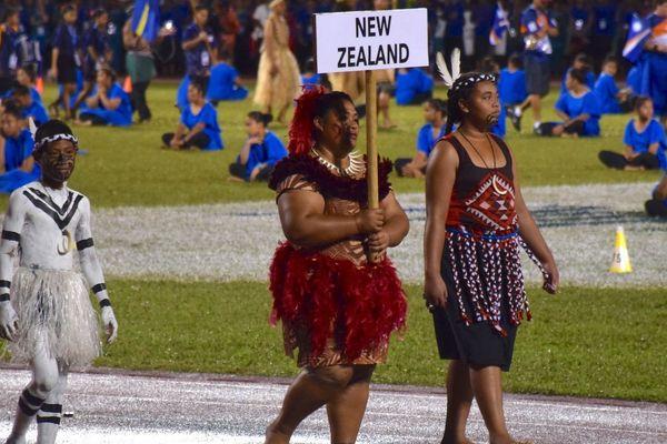 Samoa 2019, délégation de Nouvelle-Zélande