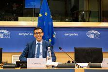 Younous Omarjee, à Bruxelles, février 2020