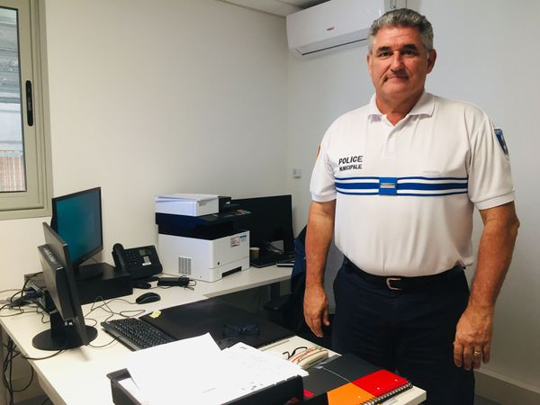 Philippe Lissarague, le directeur de la police municipale de Païta