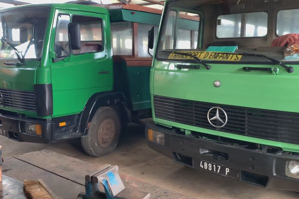 Tahaa : les trucks de transport scolaire toujours à l'arrêt