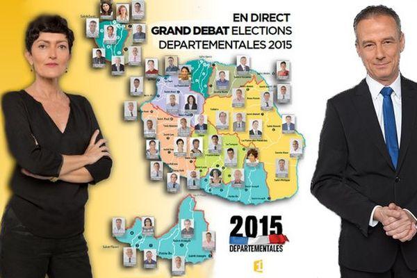 Grand débat élections 2015
