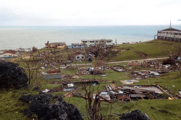 Vanuatu : la mission catholique de Melsisi détruite par le cyclone Harold