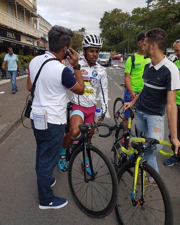 72ème Tour cycliste de La Réunion Bryan Maillot Sainte-Marie Vélo Club 120818