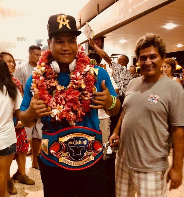 Ariitea Putoa ramène deux titres en Boxe