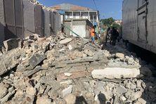 Dégâts considérables dans le sud d'Haïti.