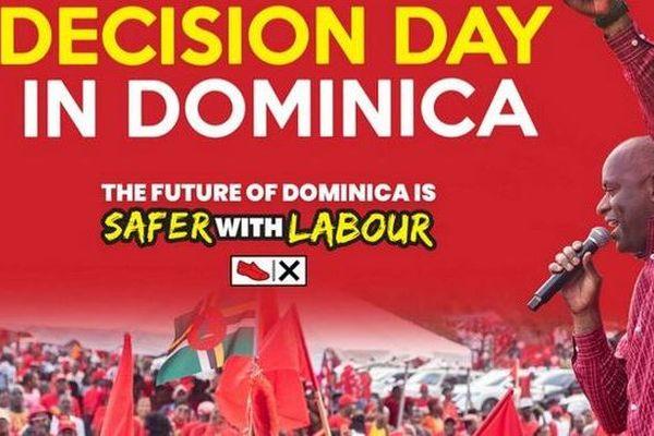 Dominique affiche électorale