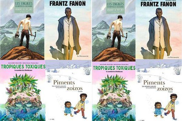 Outre-mer : quatre romans graphiques