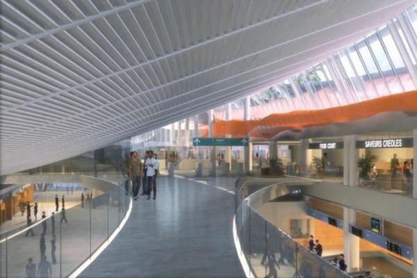 Aéroport Aimé Césaire / extension