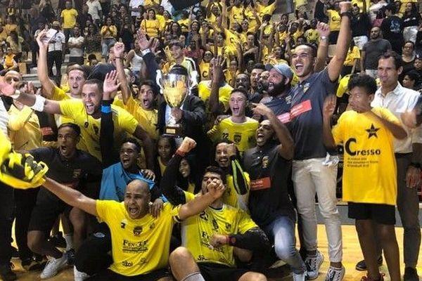 Handball les joueurs de la Cressonnière champions de La Réunion pour la 3ème fois d'affilée 040519