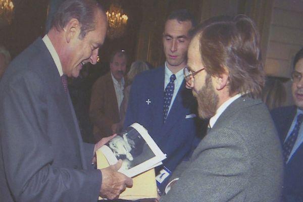 Jacques Chirac et la photo de Delmas