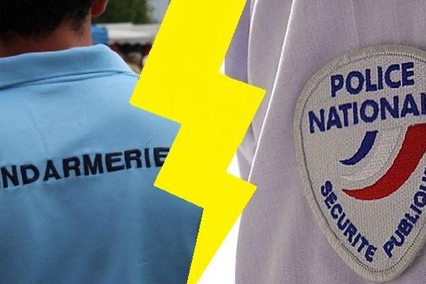Clash gendarmerie police