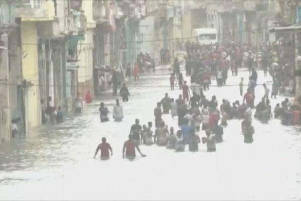 Irma à Cuba