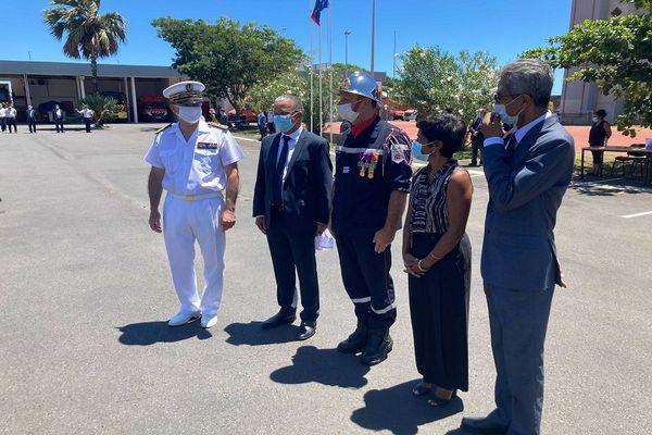 Le Colonel Frédéric Léguillier a pris la tête du SDIS de La Réunion