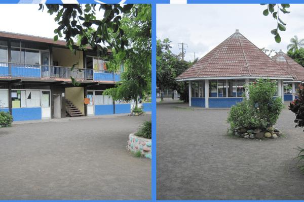 école Amatahiapo, à Mahina.