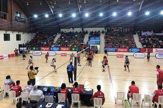 Samoa 2019, finale de volley Calédonie-Tahiti