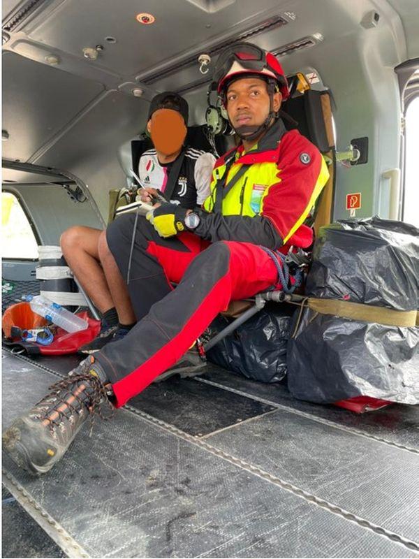 Un randonneur égaré secouru après une nuit sur les flancs de la Soufrière
