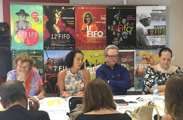 Conférence de presse FIFO 2017