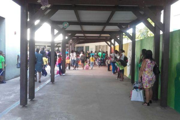 La rentrée de l'école Vendôme à Cayenne
