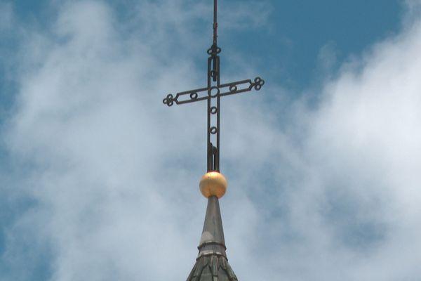 Croix église du Marin