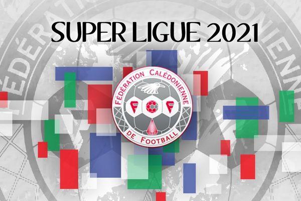 Logo de la super ligue de football 2021