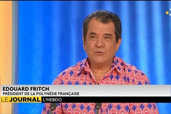 Invité de l'hebdo : Edouard Fritch, Président du Pays