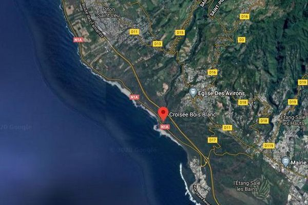 drame noyade pêcheur à la ligne Bois-Blanc Les Avirons 290520