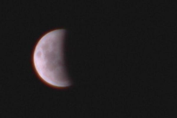 L'éclipse de la Lune, comme si vous y étiez