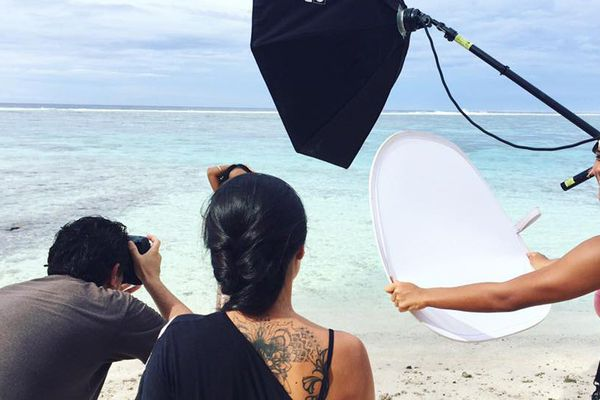 Shooting candidates Miss Tahiti