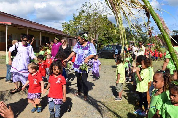 Echange maternelle du Vallon-Dore / école de Saint-Louis
