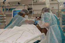 Prise en charge d'un malade de la covid-19 en Martinique.