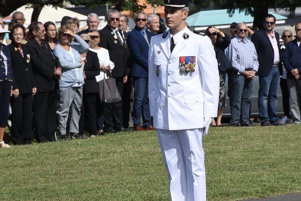 Comgend, commandant de la gendarmerie, le colonel Eric Steiger, 8 juillet 2021, Nouméa