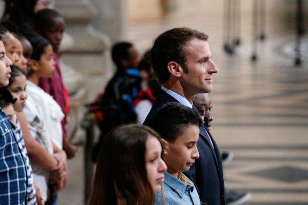 Macron Panthéon 170 ans abolition esclavage