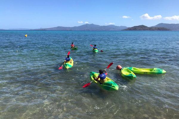 Kayak au club sportif du Maracaña